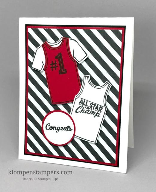 Great Card For Your Favorite Guy – Custom Tee Stamp Set