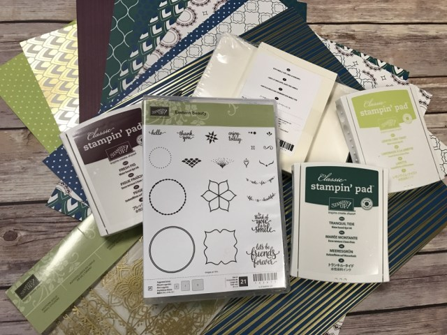 Eastern Palace Suite from Stampin' Up! Free Gift from Jackie Bolhuis with purchase, plus free gift from Stampin' Up!