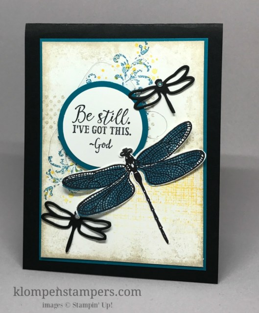 The perfect words are sometimes hard to find. Stampin' Up!'s Sending Thoughts set is perfect for many different cards. It's retiring, so make sure to get before it's gone.