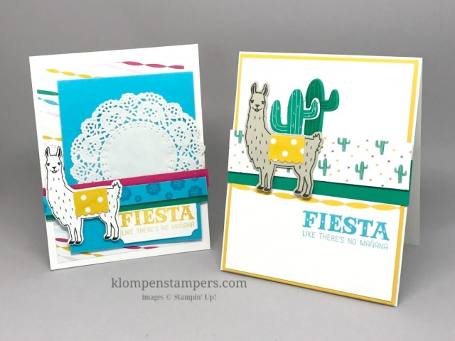 Stampin' Up! Birthday Fiesta stamp set and Fiesta Time framelits is retiring. Don't miss out on this beauty!