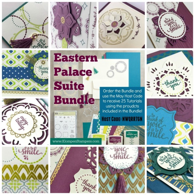 Free tutorials with purchase of the Eastern Palace Bundle