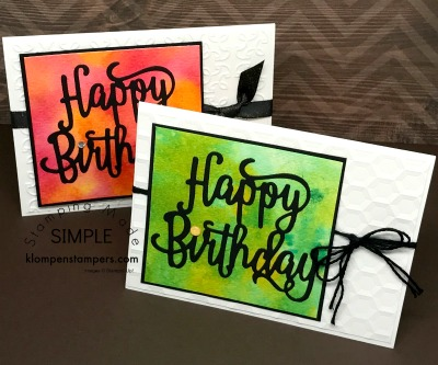 """Another """"Smooching"""" Card"""