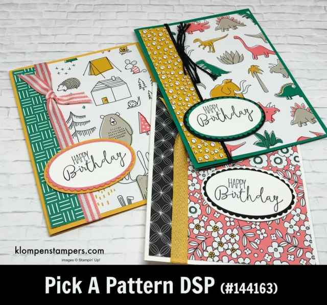 Stampin' Up! Designer Series Papers Are On Sale!