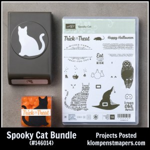Spooky Cat Bundle from Stampin' Up! WOW--so many different things you can make with it!