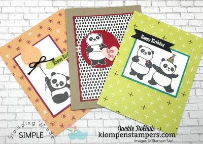 Adorable Party Pandas