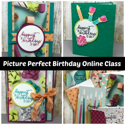 Picture Perfect Online Class & Card Kit