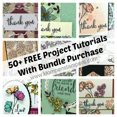 50+ Stamping Tutorials with the Love What You Do Stamp Set