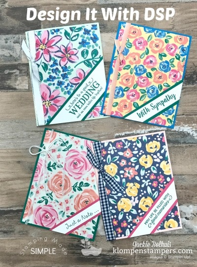 Blog Hop – Design It With Garden Impressions Designer Paper