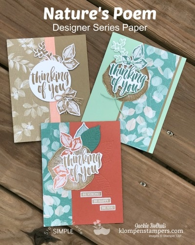 Design it With DSP – Card Ideas for Guys Using Nature's Poem