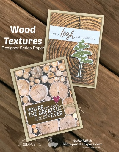 Design it With DSP – Masculine Cards with Wood Textures