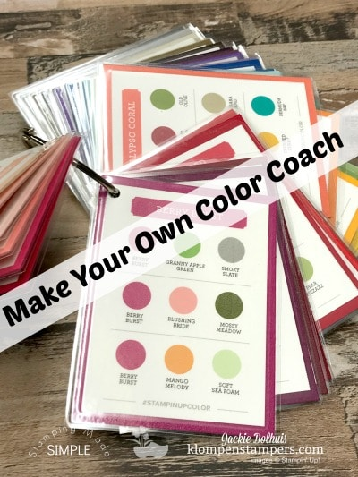 Make Your Own Color Coach