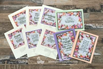 Don't Be Afraid to Cut Your Designer Series Paper! {Features Petal Promenade}