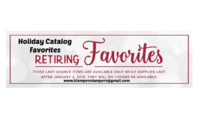 Don't Miss These Retiring Products