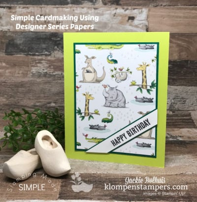 Use Scrapbook Paper to Create Greeting Cards at Electric Speed