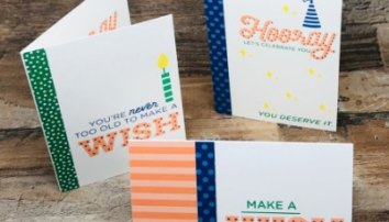 How To Make A Simple Birthday Card