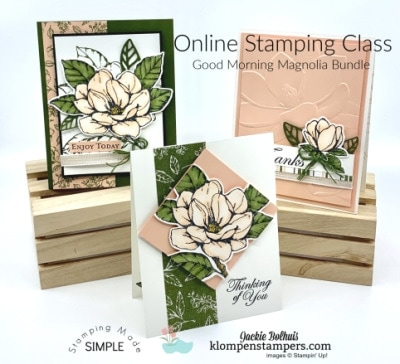 Charming Magnolia Cards to Die For! | Online Class
