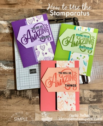 Smart Stamparatus Tips That Will Make Your Stamping Successful