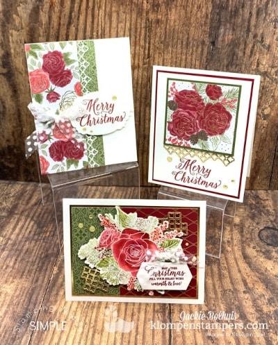 Make Elegant Homemade Christmas Cards + Free Tutorials Option