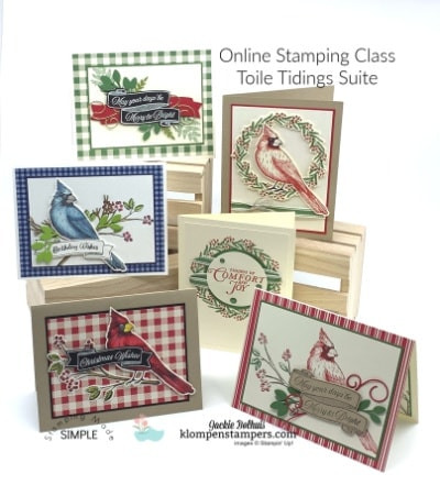 12 Gorgeous Cards – New Online Stamping Class