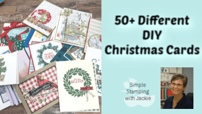 53+ Easy Christmas Card Ideas Grouped by Stamp Sets