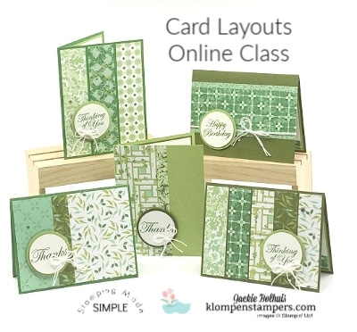 5 Easy Card Layouts You'll Use Over and Over | Online Card Class