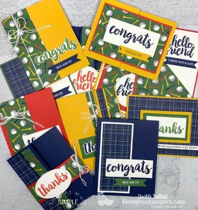 Fun Fold One Sheet Wonder | Perfect Cards For Men