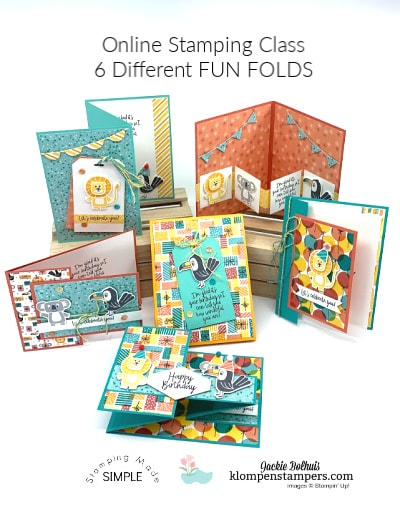 A Fun Fold Bonanza Card Class You'll Want