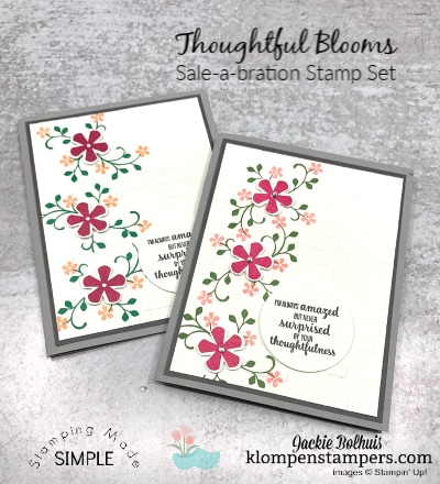 How to Make a Quick Card With Embossing on a Stamped Layer