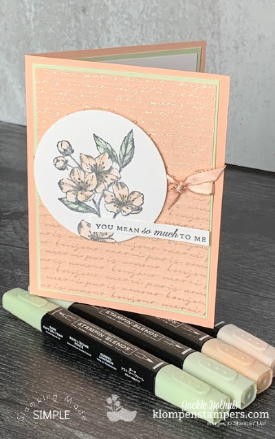 OMG! This Elegant Card is SO Easy to Make + Online Class Opportunity