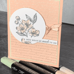 Elegant Card to Make With Stampin Blend Tips