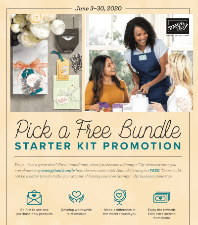 How to Become a Stampin' Up! Demonstrator & Save Money