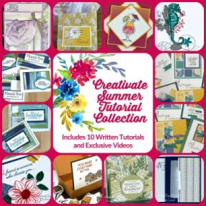 Creativate Summer Tutorial Collection