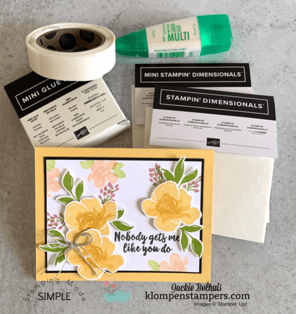 best-adhesive-dimensionals-glue-and-glue-dots-all-made-on-this-simple-hand-stamped-card
