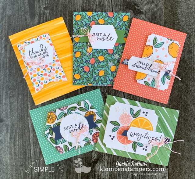 make-15-greeting-cards-simply-citrus-card-kit