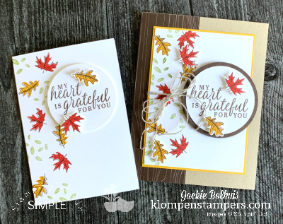 How to Make Beautiful Autumn Greeting Cards With the SIP Method