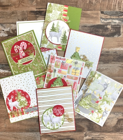 DIY Christmas Cards | The Most Wonderful Time
