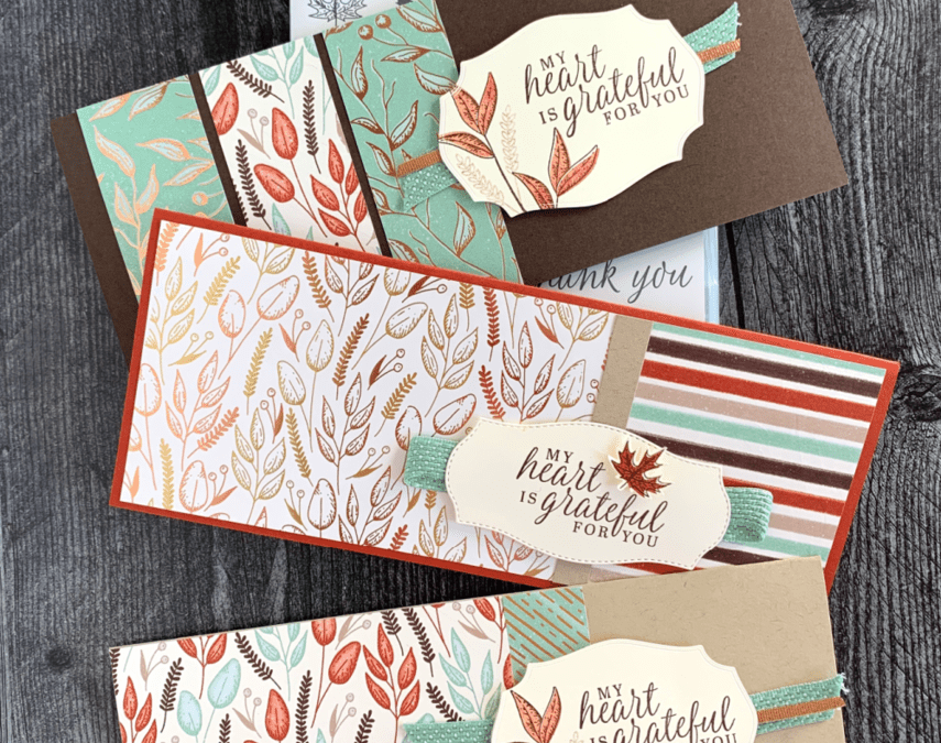 An Easy Slim Line Card to Make That's Sure to be a Favorite