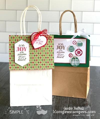 How to Make a No Peek Gift Bag