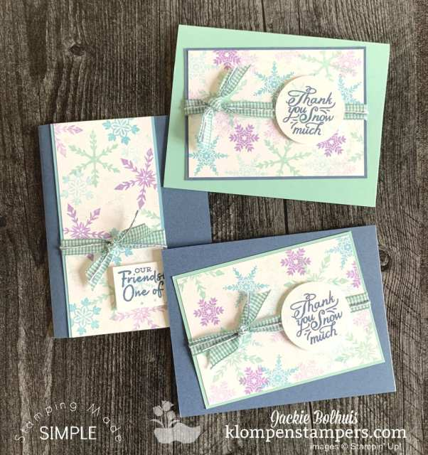 hand-stamped-snowflakes-for-fun-card-making-with-gingham-ribbon
