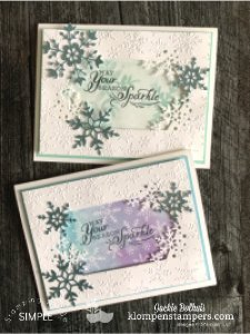 How to Make a Die Cut Window Christmas Card