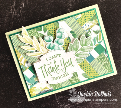 Make a Simple Thank You Card With Paper Scraps