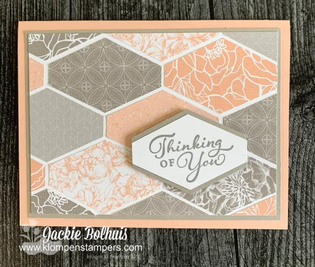 Having the best craft punch and mixing it with designer paper or scrapbook paper makes card making so easy.