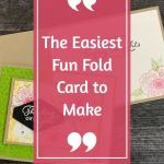 The Easiest Fun Fold Card You Can Make
