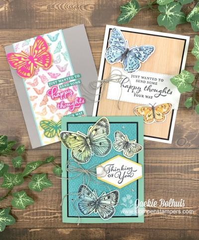 New Stampin' Up! Butterfly Brilliance + How to Get 12 Project Ideas for Free