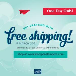 Saying Good-Bye & FREE Shipping
