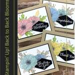 Stampin' Up! Back to Back Blooms