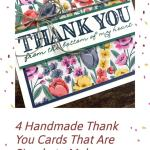 4 Handmade Thank You Cards That Are Simple to Make