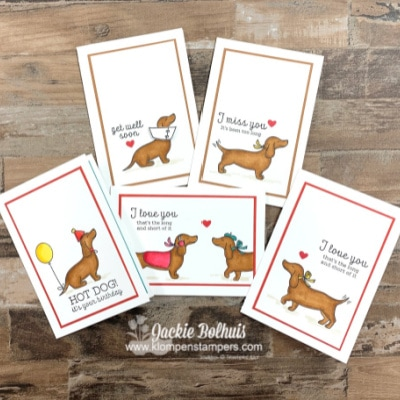 DIY Birthday Cards That Make Your Heart Lighter + Best Weenie Dog Ever!