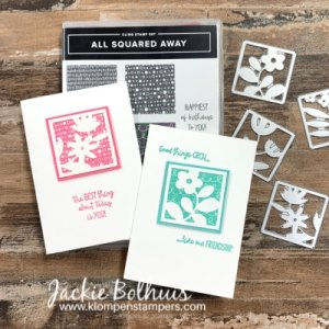 Let Me Get You All Squared Away!  Make Some Fabulous Note Cards Today