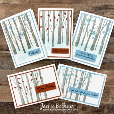 Welcoming Woods: How This Stamp Set Inspired Birthday Cards For Him